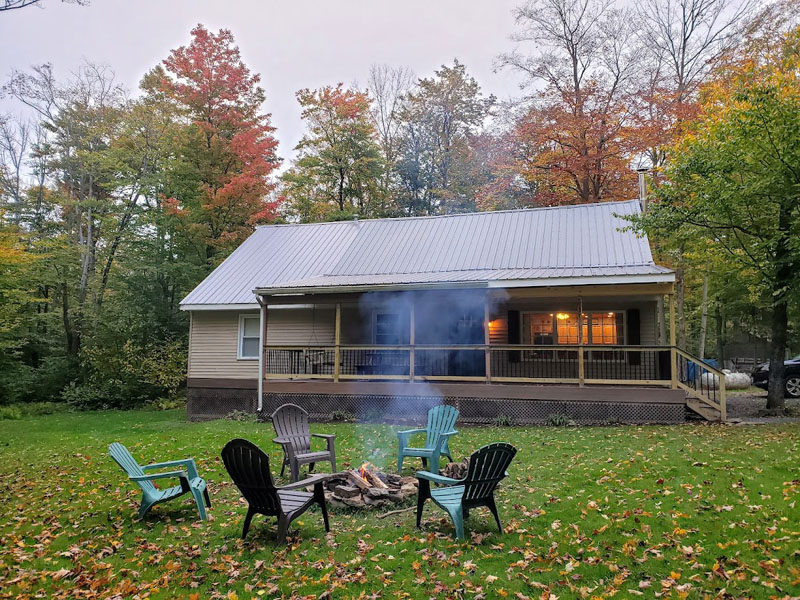 Super Vacation Getaway Wild Asaph Cabin Rentals In Wellsboro Pa Home Interior And Landscaping Ologienasavecom